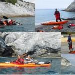 "Corso di kayak da mare ""PROGRESS"" a Bergeggi (SV)"