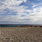cielo spiaggia e mare a bergeggi