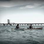 Il porto di Vado Ligure consente escursioni in kayak anche durante giornate di vento intenso