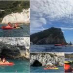 Escursione in kayak a Bergeggi (Liguria) del 13 Agosto 2017