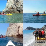 Escursione alle Falesie di Capo Noli del 17 giugno 2017 – Canoe excursion in Noli Cape of 2017, june, 17