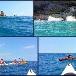 Escursione alla Grotta dei Falsari di Noli, del 18 giugno 2017:  – Canoe excursion in Noli Cape of 2017, june, 18