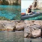 Escursione in Kayak a Varigotti (Liguria) del 19 Luglio 2015 – Circa 26 Km. Kayak excursion in Bergeggi (Liguria) of July, 19,  2015 – About 26 Km.