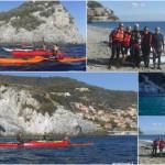 Escursione in kayak da Bergeggi a Spotorno del 19 novembre 2017
