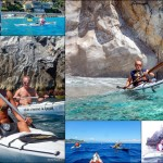 Doppia Escursione in Kayak a Varigotti e Bergeggi (Liguria) del 2 Agosto 2015 – Circa 20 + 5 Km. Kayak double excursion in Varigotti and Bergeggi (Liguria) of August, 02,  2015 – About 20 + 5 Km.