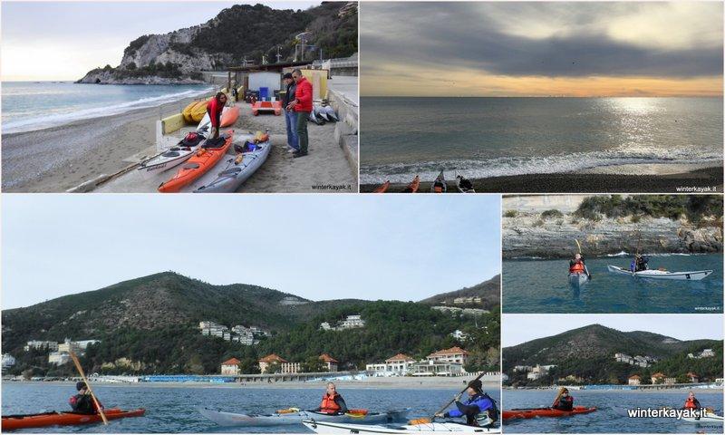 """Corso di kayak da mare """"candidate"""" a Bergeggi"""