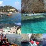 Escursione in kayak a Varigotti e Noli (Liguria) del 24 Gennaio 2016 – Circa 22 Km. Kayak excursion in Varigotti e Noli (Liguria) of January, 24,  2016 – About 22 Km.