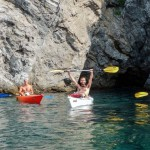 kayak excursions, canoeing, liguria, bergeggi
