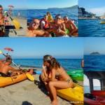 Alassio (Savona – Liguria) Corso introduttivo al kayak per ragazzi del 21 luglio 2015Alassio (Savona – Liguria – Italy) Introductory course in kayaking for kids of July, 21, 2015