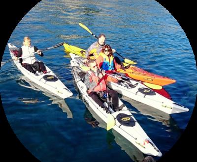 Escursioni in Kayak in Liguria