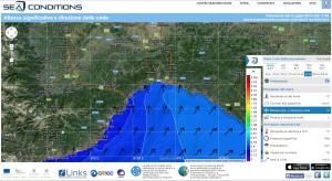 sea condition domenica 6 luglio ore 16 17
