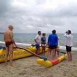 Canoa polinesiana: contatto stabilito!