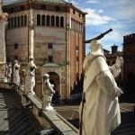Uno scorcio di Piazza del Comune a Cremona