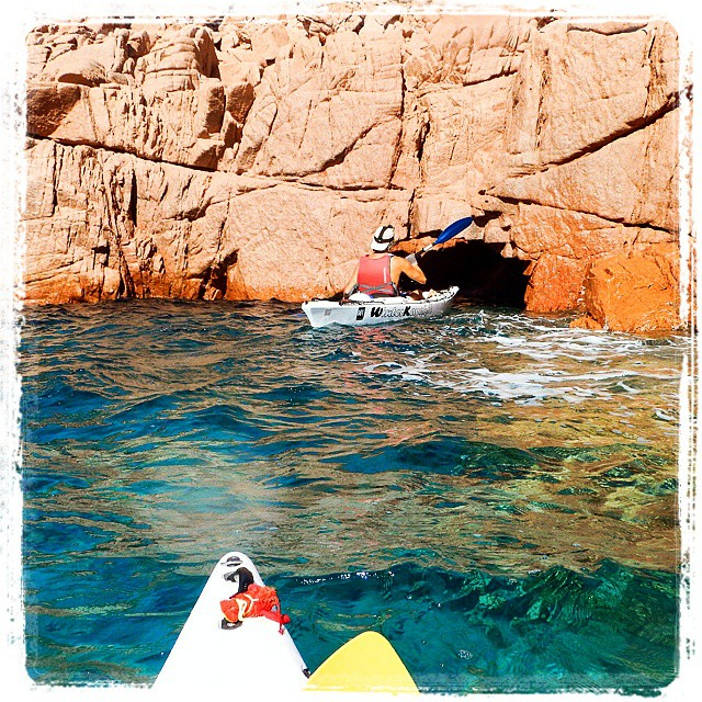 Outside the Mountain....! To be continued! #kayak #fun #nature
