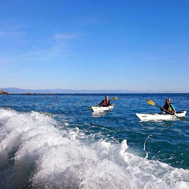 What a fantastic winter..on...kayak :-))! #kayak #nature #fun