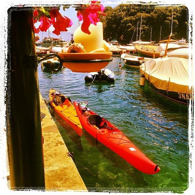 Portofino (Italy), always has a great charm! #kayak #nature #fun