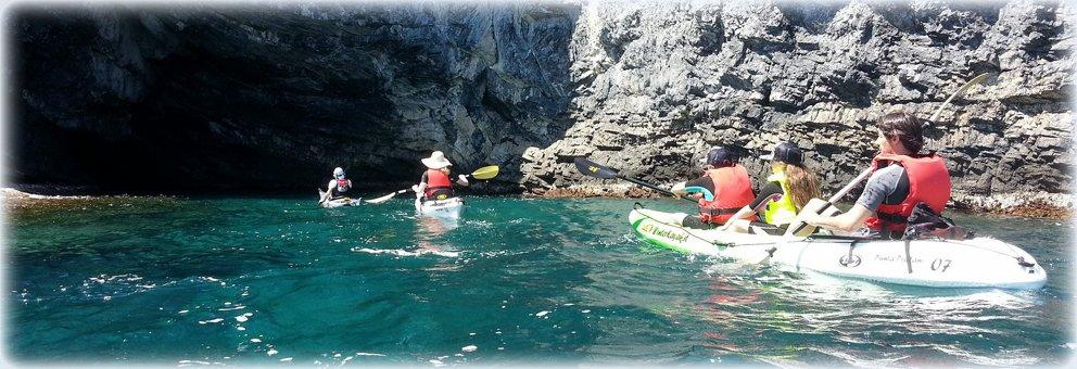 Inizia la stagione delle escursioni in canoa all'isola di Bergeggi