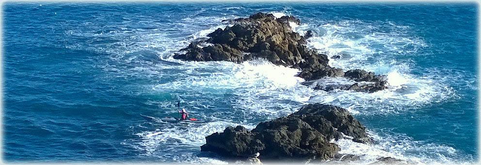 Febbraio a Bergeggi - In kayak a Punta Predani