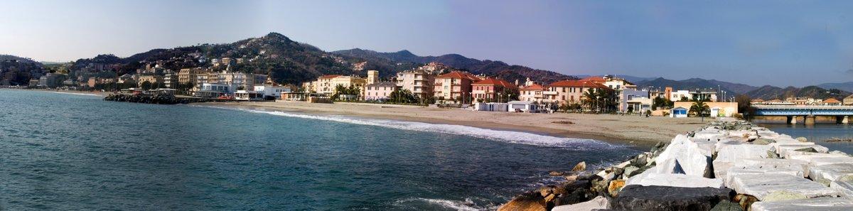 Panorama sul borgo di Albissola Marina