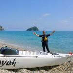 Escursione in Kayak a Bergeggi (Liguria) del 9 Aprile 2015 – Circa 5 Km