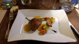 Cucina all'altezza al Mas de Mon Père, tra carni e foie gras