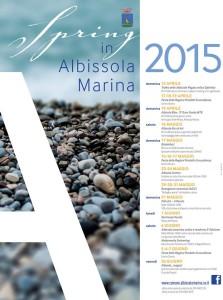 Il programma di Spring in Albissola 2015