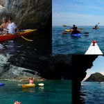 Escursione in Kayak a Bergeggi (Liguria) del 11 Maggio 2015 – Circa 6 Km. Kayak excursion in Bergeggi (Liguria) of May, 11,  2015 – About 6 Km.