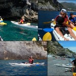 Escursione in Kayak a Bergeggi (Liguria) del 9 Maggio 2015 – Circa 5 Km. Kayak excursion in Bergeggi (Liguria) of May, 09,  2015 – About 5 Km.