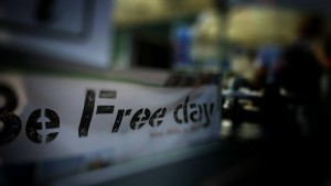be free logo