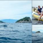Escursione in Kayak a Bergeggi (Liguria) del 21 Giugno 2015 – Circa 14 Km. Kayak excursion in Bergeggi (Liguria) of June, 21,  2015 – About 14 Km.