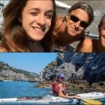Escursione in Kayak a Bergeggi (Liguria) del 26 Giugno 2015 – Circa 4 Km.