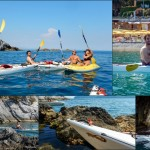 Escursione in Kayak a Bergeggi (Liguria) del 5 Giugno 2015 – Circa 10 Km. Kayak excursion in Bergeggi (Liguria) of June, 5,  2015 – About 10 Km.