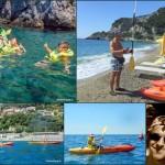 Escursione in Kayak a Bergeggi (Liguria) del 25 Giugno 2015 – Circa 4 Km. Kayak excursion in Bergeggi (Liguria) of June, 25,  2015 – About 4 Km.