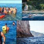 BeWater Summer Camp Escursione in Kayak a Varigotti (Liguria) del 27 Giugno 2015 – Circa 20 Km. Kayak excursion in Varigotti (Liguria) of June, 27,  2015 – About 20 Km.