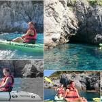 Escursione in Kayak a Bergeggi (Liguria) del 09 Settembre 2015 – Circa 3,5 Km. Kayak excursion in Bergeggi (Liguria) of September, 09,  2015 – About 3,5 Km.