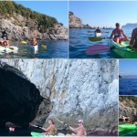 Escursione in Kayak a Bergeggi (Liguria) del 29 Agosto 2015 – Circa 4 km Kayak excursion Bergeggi (Liguria) of August, 29,  2015 – About 4 Km.