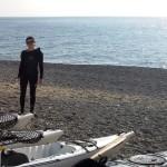 Escursione in Kayak a Bergeggi (Liguria) del 24 Ottobre 2015 – Circa 4 Km.