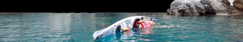 Corso avanzato per kayak da mare disponibile da maggio a settembre