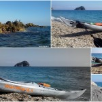 Escursione in Kayak a Bergeggi (Liguria) del 05 Novembre 2015 – Circa 6 Km.