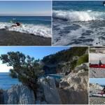 Escursione in kayak a Bergeggi (Liguria) del 6 Gennaio 2016 – Circa 3 Km. Kayak excursion in Bergeggi (Liguria) of January, 06,  2016 – About 3 Km.