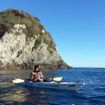 Escursione in kayak a Bergeggi (Liguria) del 17 Gennaio 2016 – Circa 11 Km. Kayak excursion in Bergeggi (Liguria) of January, 17,  2016 – About 11 Km.