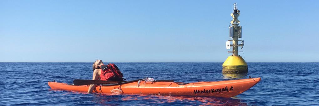 Kayak fuori stagione? Certo, con noi si pagaia tutto l'anno!