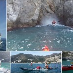 Escursione in kayak a Bergeggi (Liguria) del 20 Febbraio 2016 – Circa 6 Km. Kayak excursion in Bergeggi (Liguria) of February, 20, 2016 – About 6 Km