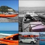 Escursione in kayak da Bergeggi a Capo Noli (Liguria) del 26 Marzo 2016