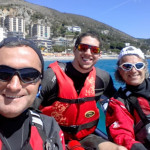 Escursione in kayak a Bergeggi  (Liguria) del 25 Aprile 2016 – Circa 10 Km. Kayak excursion in Bergeggi (Liguria) of April, 25, 2016 – About 10 Km.
