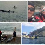 Escursione in kayak a Bergeggi (Liguria) del 24 Aprile 2016 – Circa 7 Km