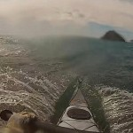 surf in kayak Isola di Bergeggi