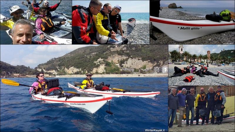 Varigotti-Bergeggi in kayak