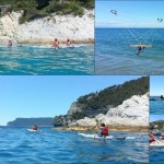 Doppia escursione in kayak a Bergeggi (Liguria) del 20 Giugno 2016 – Circa 5+6 Km. Double kayak excursion in Bergeggi (Liguria) of June, 20, 2016 – About 5+6 Km.