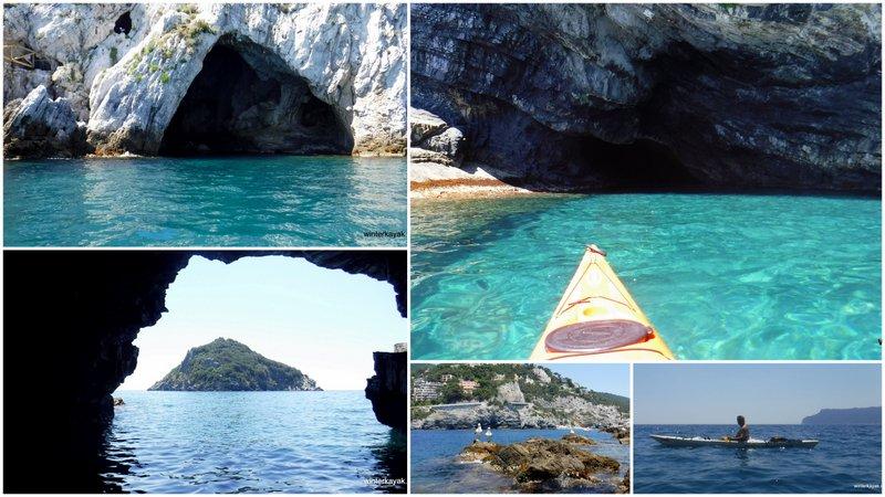 bergeggi in canoa e kayak